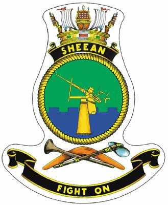 Crest of the Collins Class Submarine HMAS Sheehan