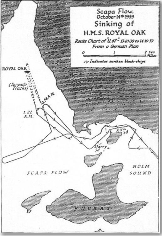 Map of Scapa Flow