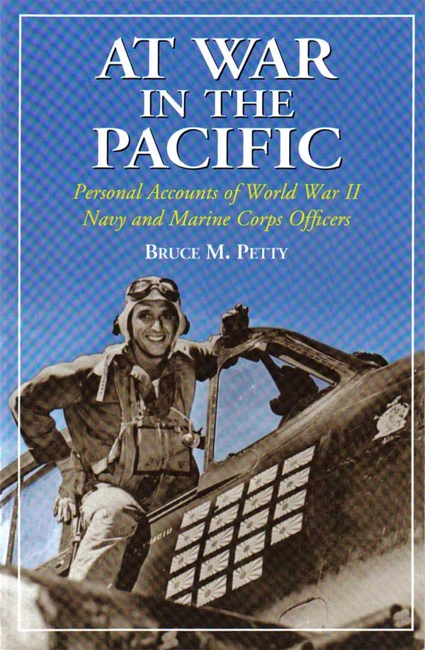 At War in the Pacific by Bruce M. Petty Book cover