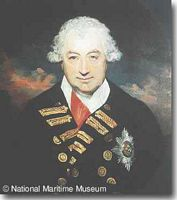 Admiral, Sir John Jervis - click to read more