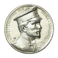 Medal commemorating Captain Count Dohna-Schlodien of SMS 'Moewe'