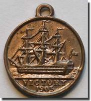 HMS Victory Medalets = click to read more