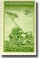 Iwo Jima Stamp - click to read more