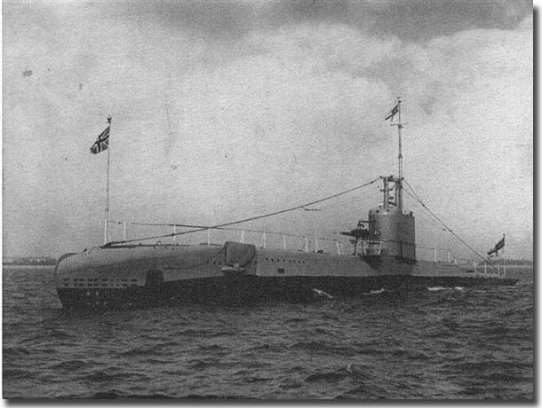 HM Submarine Sturgeon, one of the submarines commanded by Captain Wingfield