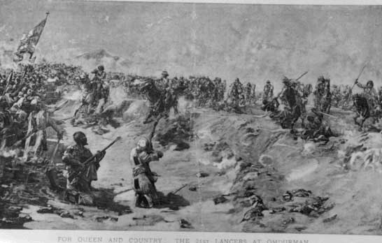 Charge of the 21st Lancers at Omdurman: 2 September 1898