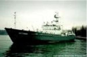 Polish Survey vessel ORP Arctowski