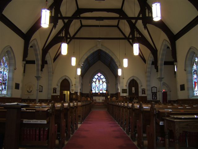 St James Church Orillia Ontario Canada Interior