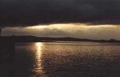 Orkney sunset, Scapa Flow