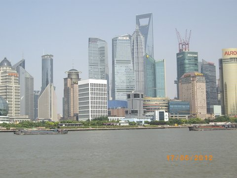 Skyline at Shanghai