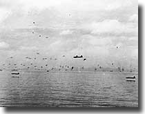Japanese Air Attack at Guadalcanal