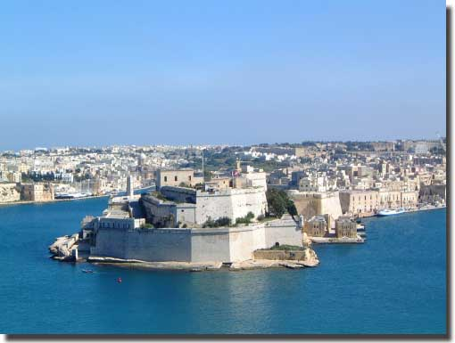 View of Malta and the Grand Harbour