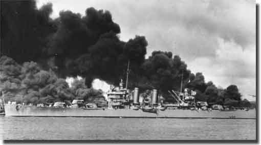 USS Phoenix at Pearl Harbor