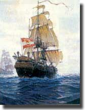 Austrian Frigate Novara circumnavigated the world over 1857/1859