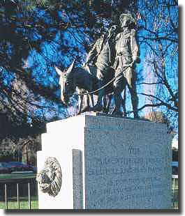 Statue of Simpson and his Donkey, Melbourne