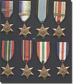 Australian WW2 Campaign Stars - click to read the article