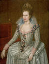 Anne of Denmark, who commissioned the building of the Queen's House at Greenwich in 1616.