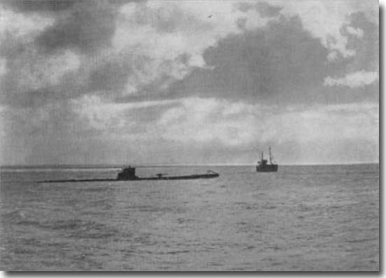 Spanish Submarine C3, sunk by German U-Boat U-34 off Malaga on the 11th. of December 1936 during the Spanish Civil War. there were but 3 survivors from a crew of 40.