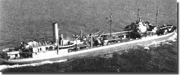 AO 11 Sapelo, the fleet oiler that joined Convoy ONS 5