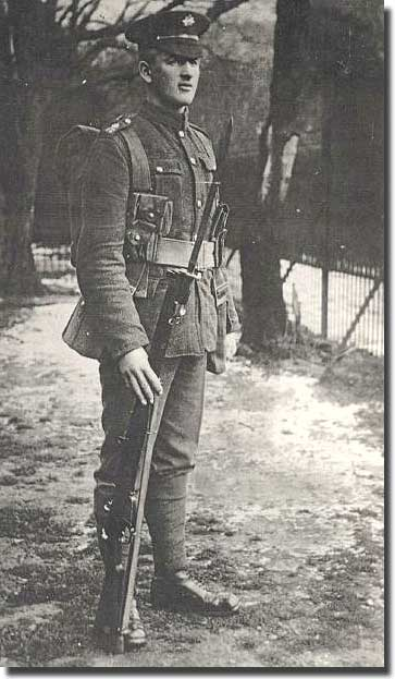 Private Charles Quinn of the Irish Guards killed in Action 1st. Sept. 1918