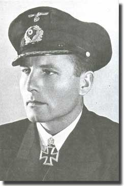 Wartime picture of Karl-Friedrich Merten.