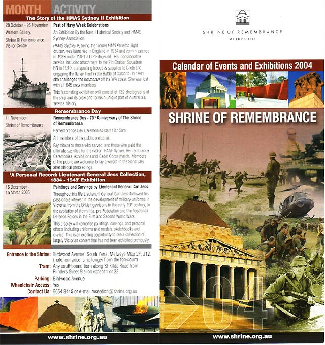 2004 Shrine of Rememberance