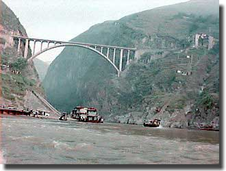 Bridge across the Yangtze